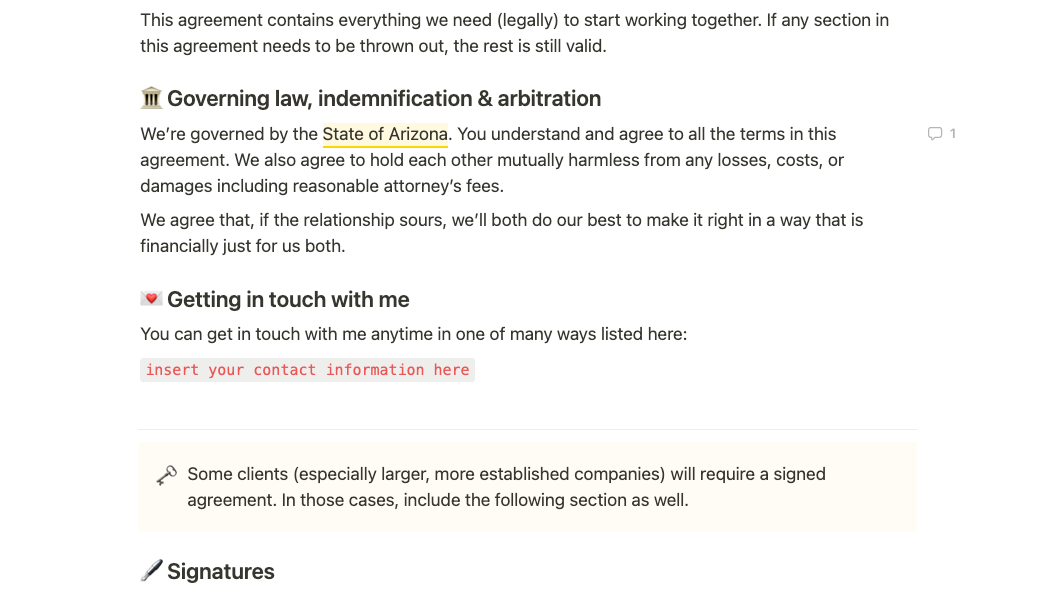Client Services Agreement (Contract)