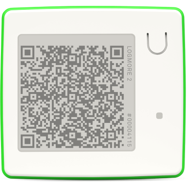 What are QR data loggers?