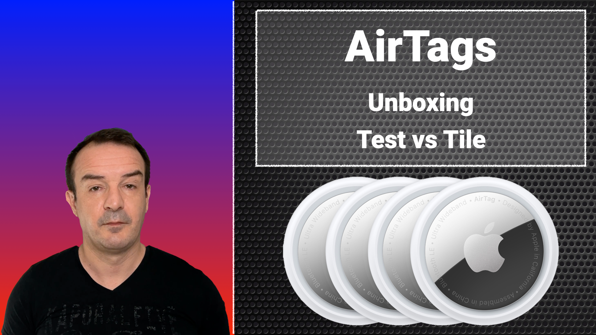 Airpods: unboxing & test vs Tiles