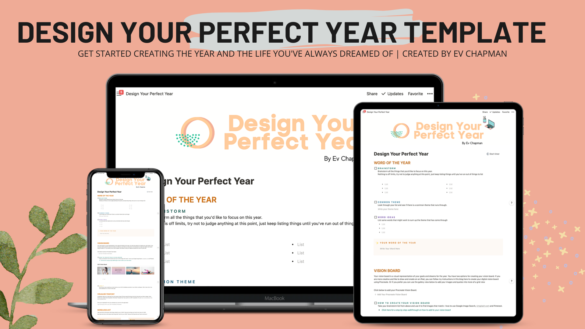 The Perfect Year Template