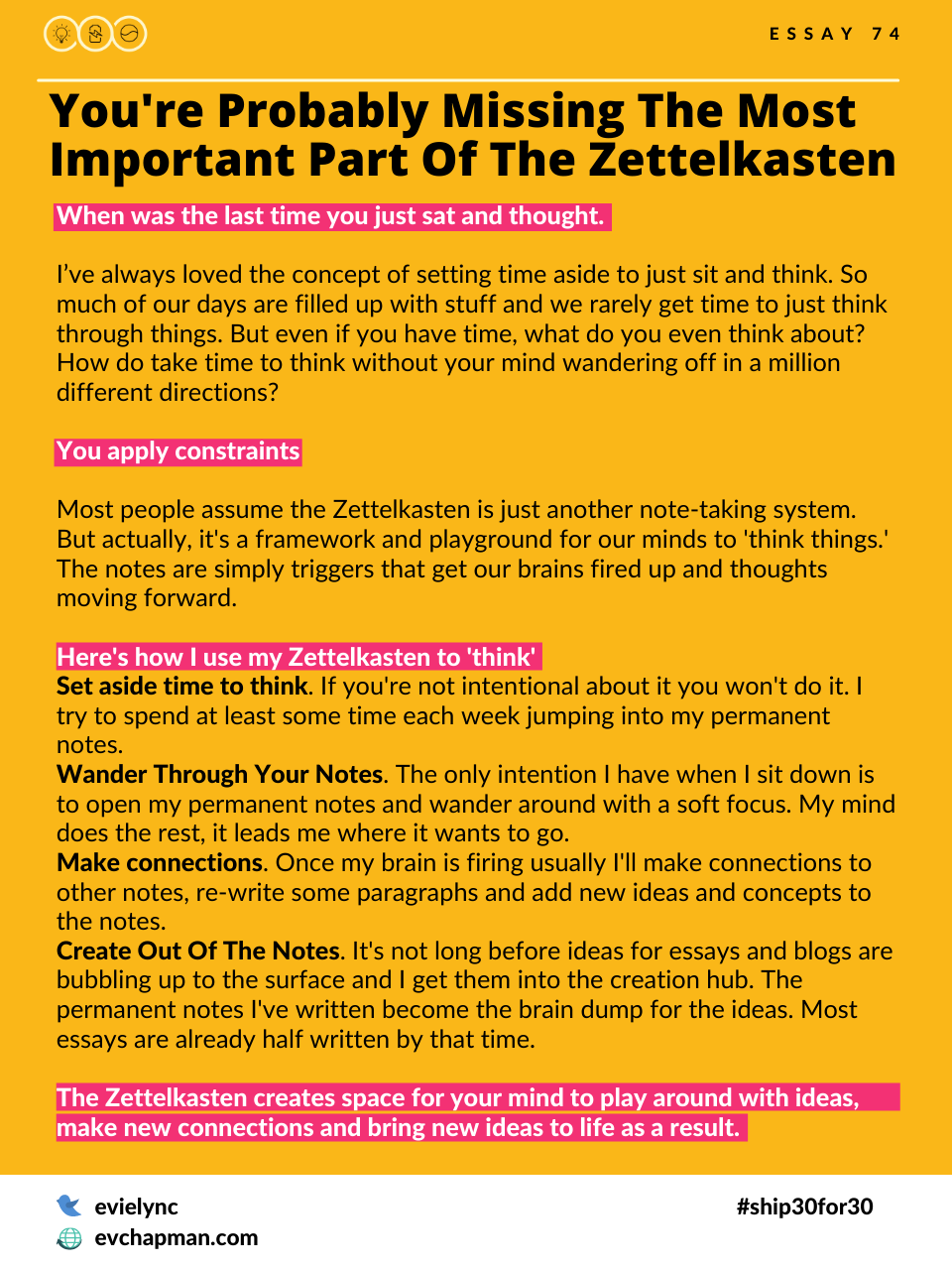 You're Probably Missing The Most Important Part Of The Zettelkasten