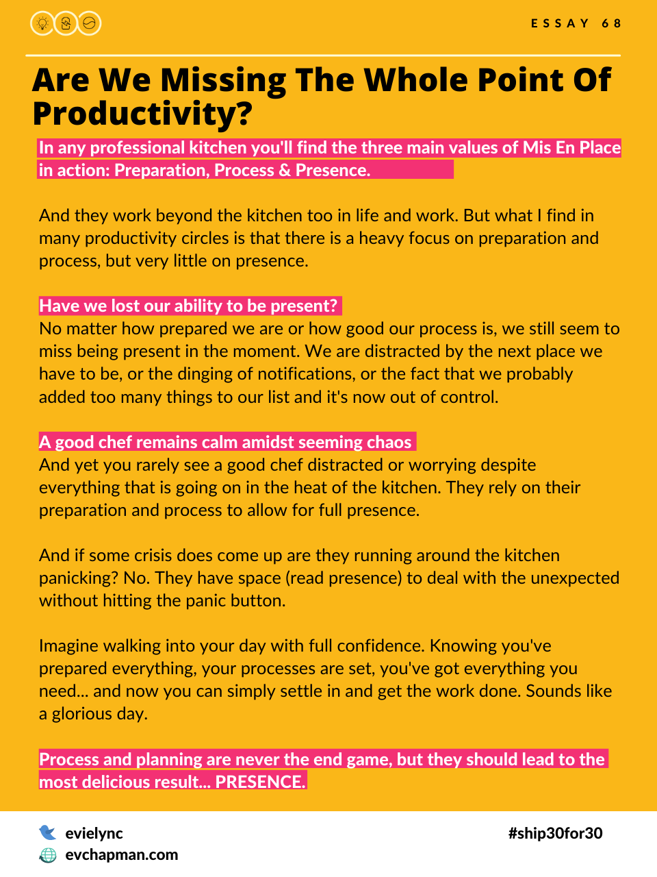Are We Missing The Whole Point Of Productivity?
