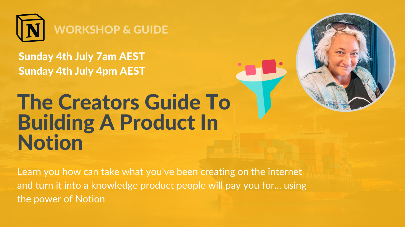 [WORKSHOP] The Creators Guide To Building A Product In Notion