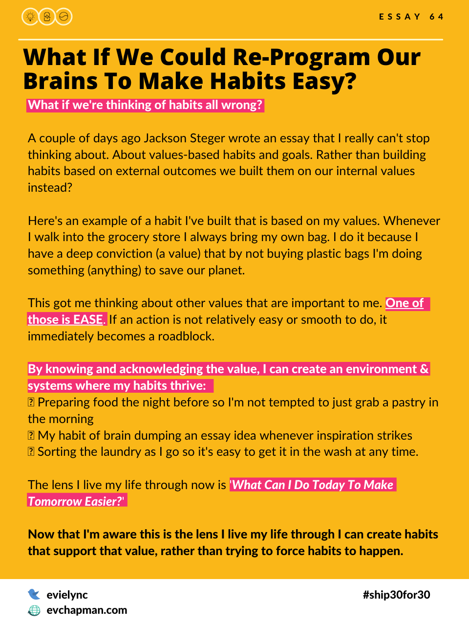 What If We Could Re-Program Our Brains To Make Habits Easy?