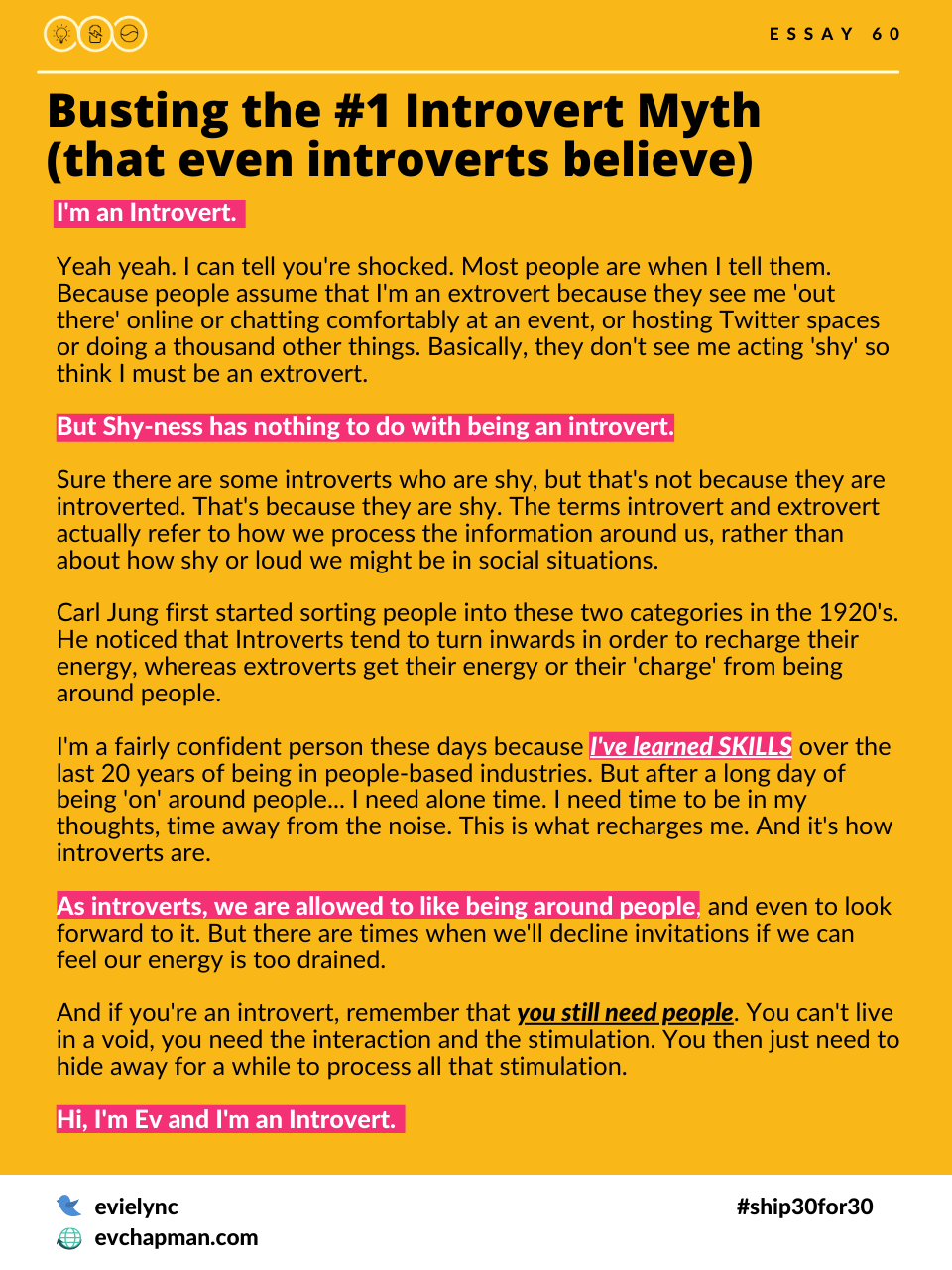 Busting the #1 Introvert Myth (that even introverts believe)