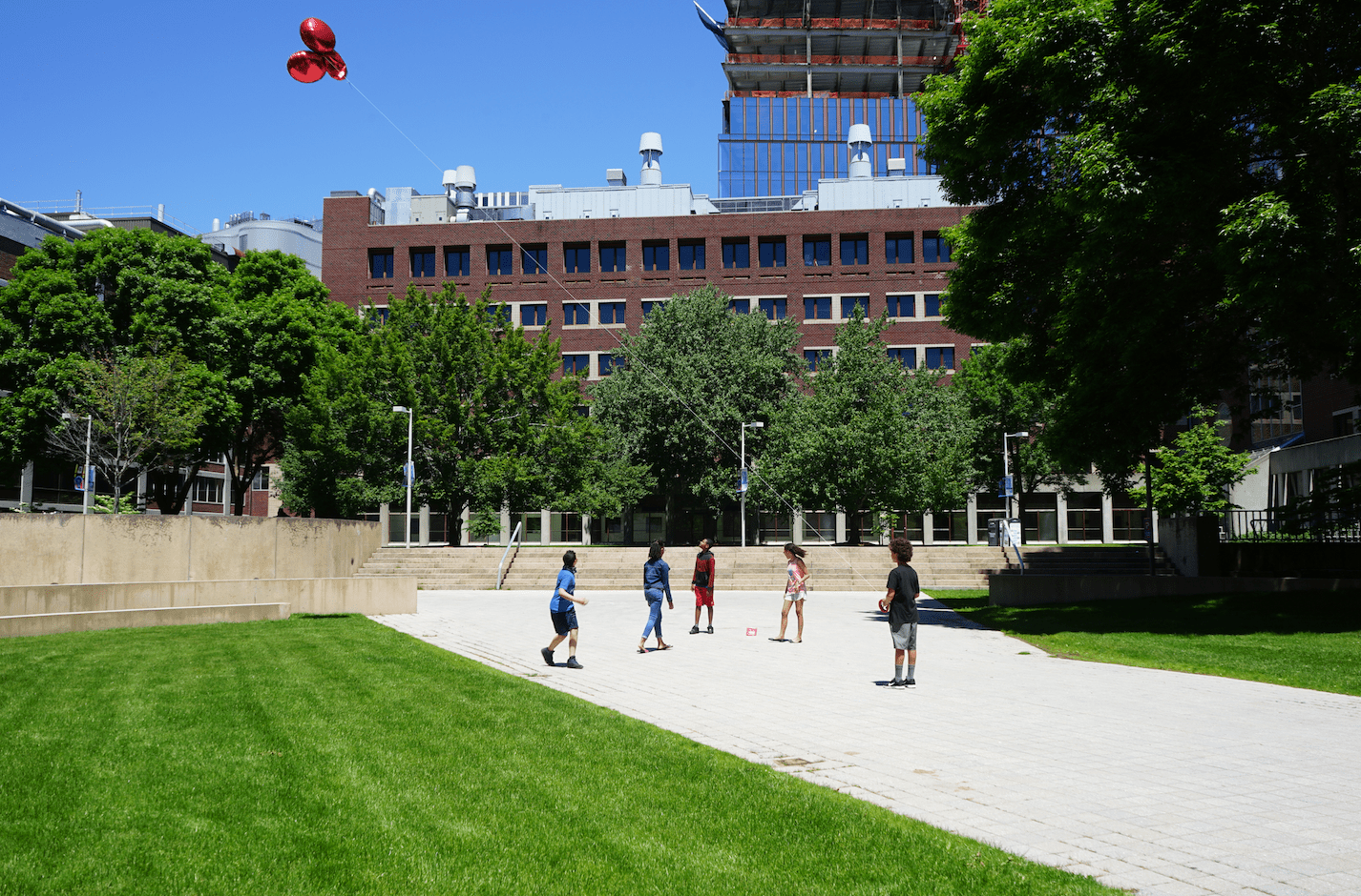 Experimenting with detecting vegetation on the MIT campus using aerial imaging.