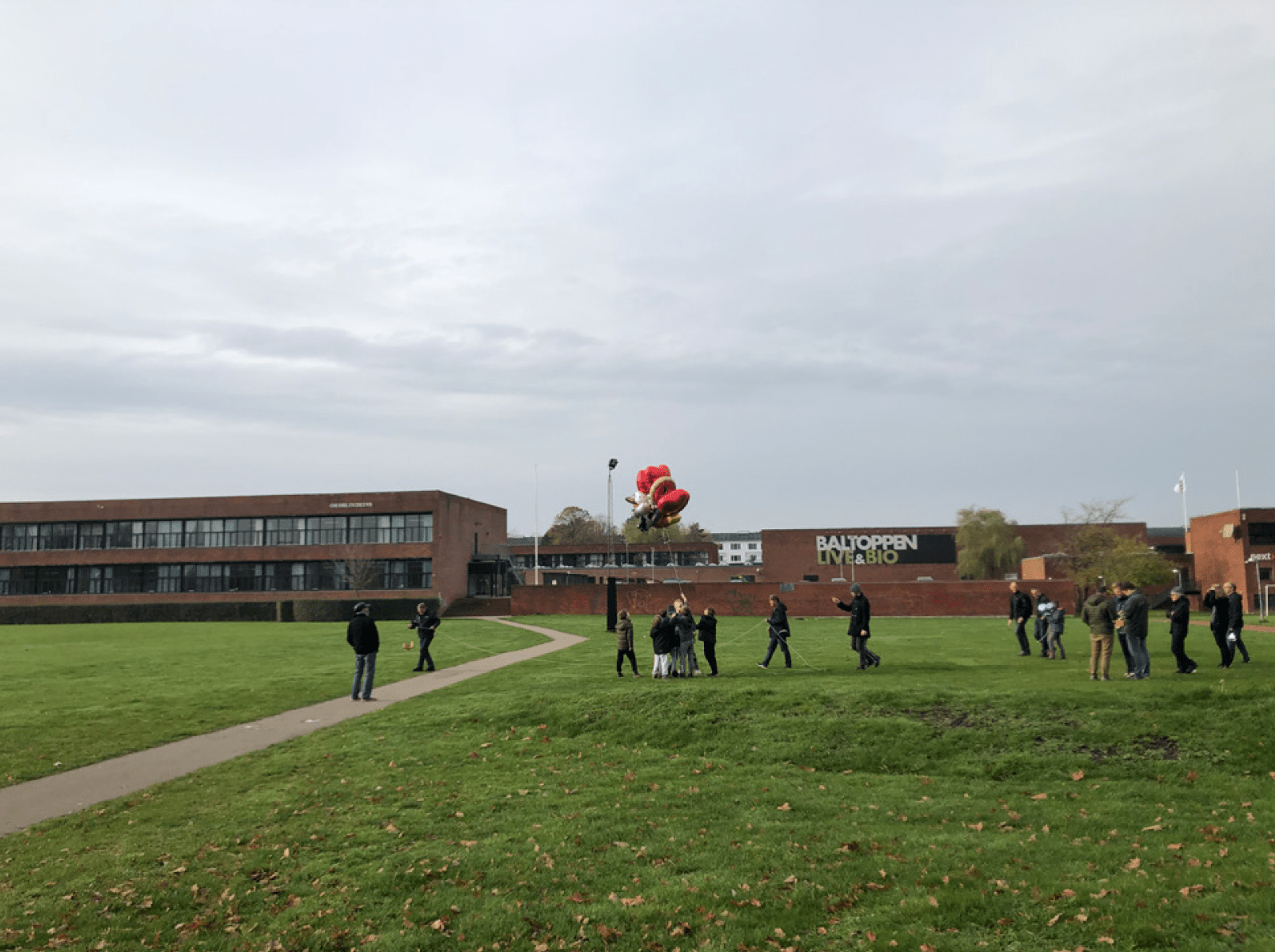 Our friends at Ballerup Public Library in Denmark selected an exemplary launch site!