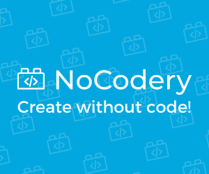NoCodery.com! The best no-code tutorials. Learn no-code easily by following these tutorials