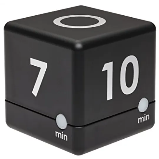 Digitail cube timer