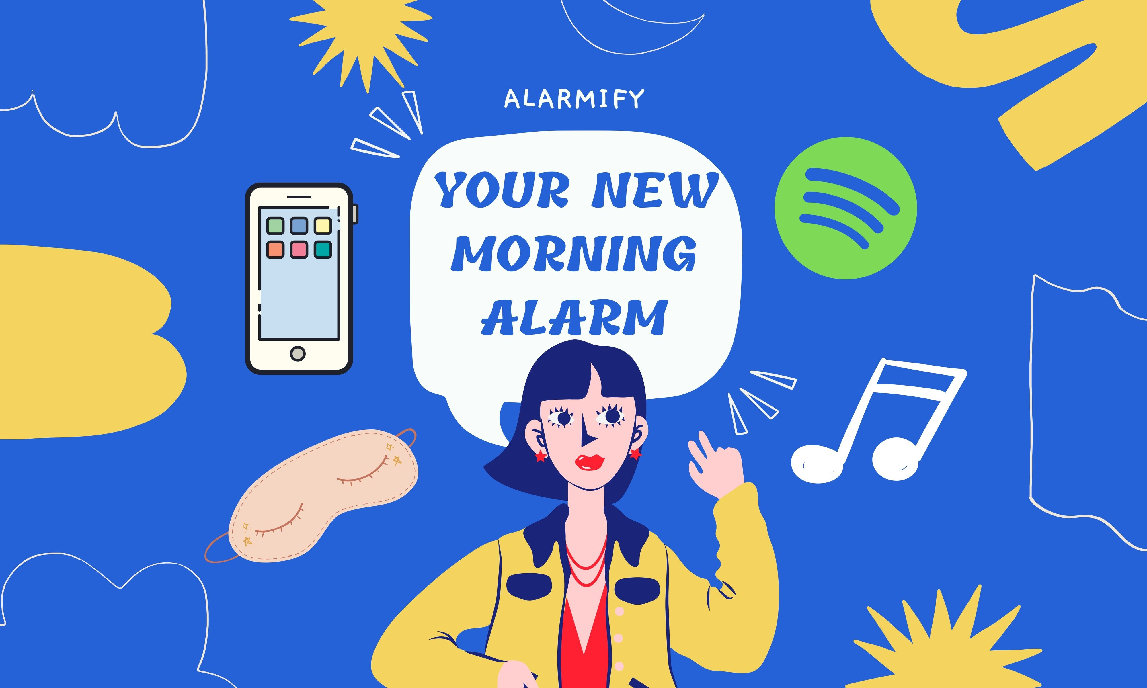 YOUR NEW MORNING ALARM