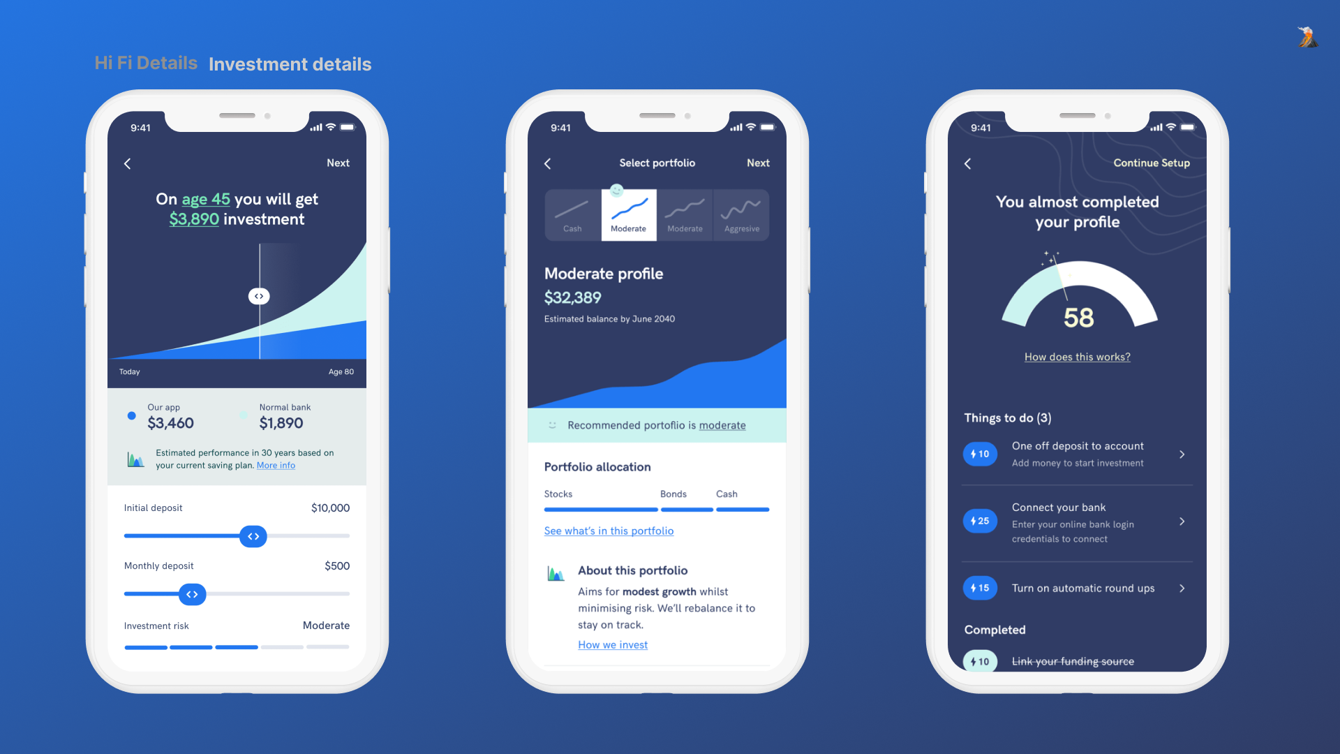 Extra details for onboarding