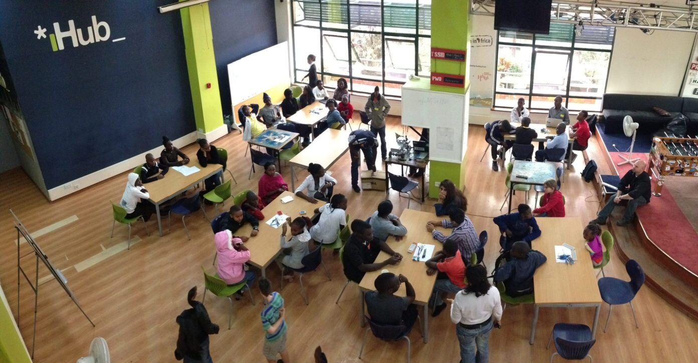 *iHub_ Incubation and Co-working Space