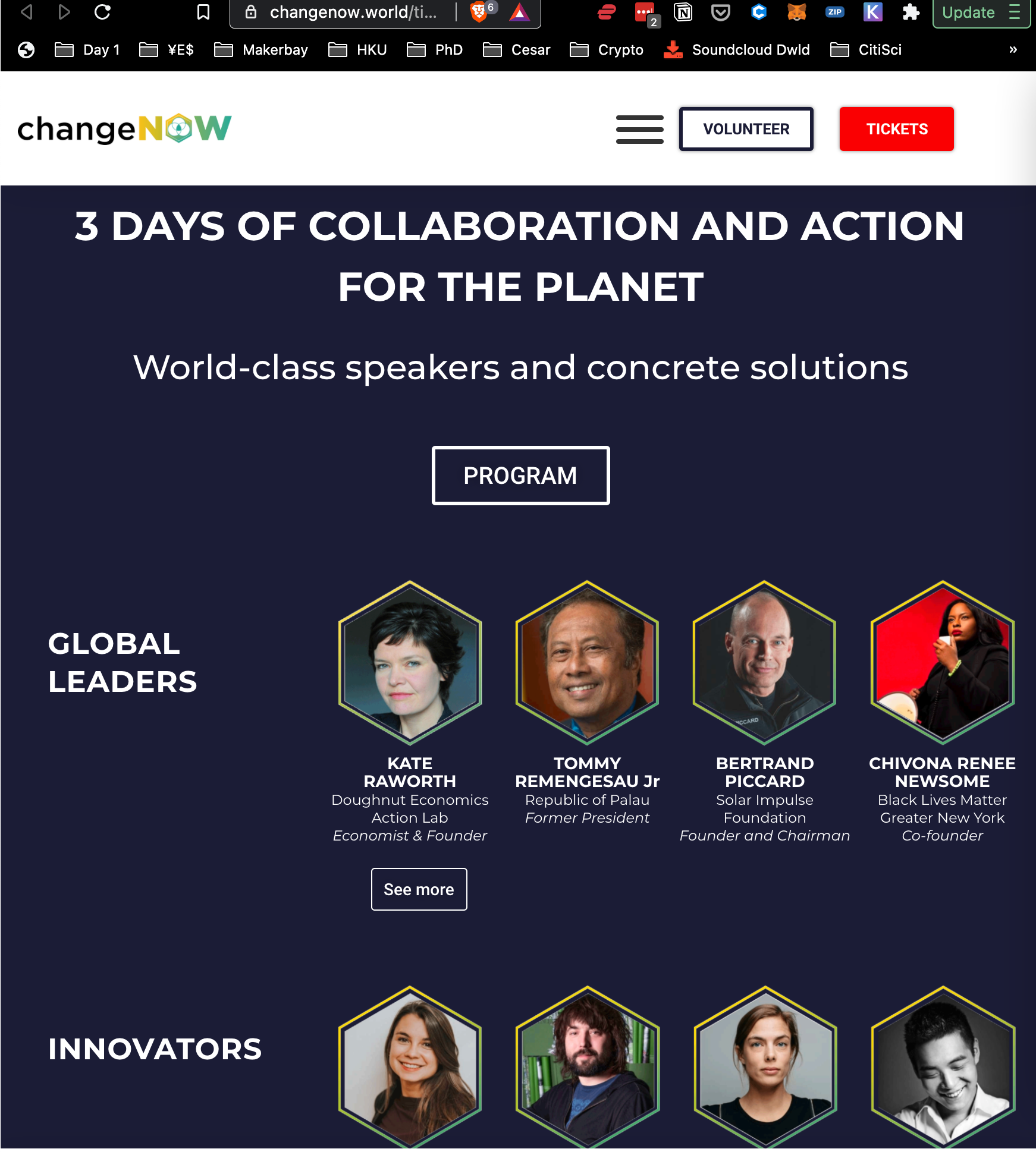 ChangeNOW, World's largest event for the planet