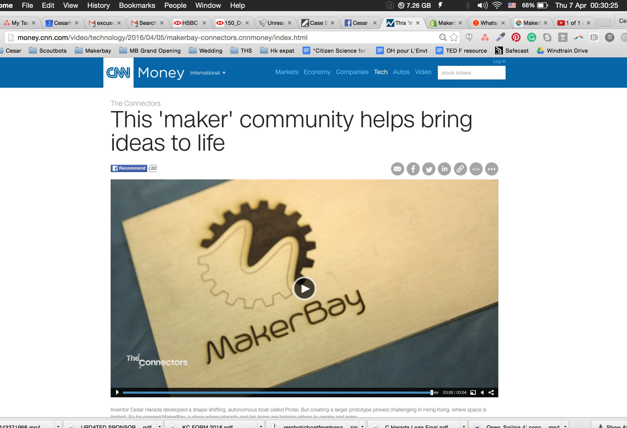 """this """"maker"""" community helps bring idea to life"""