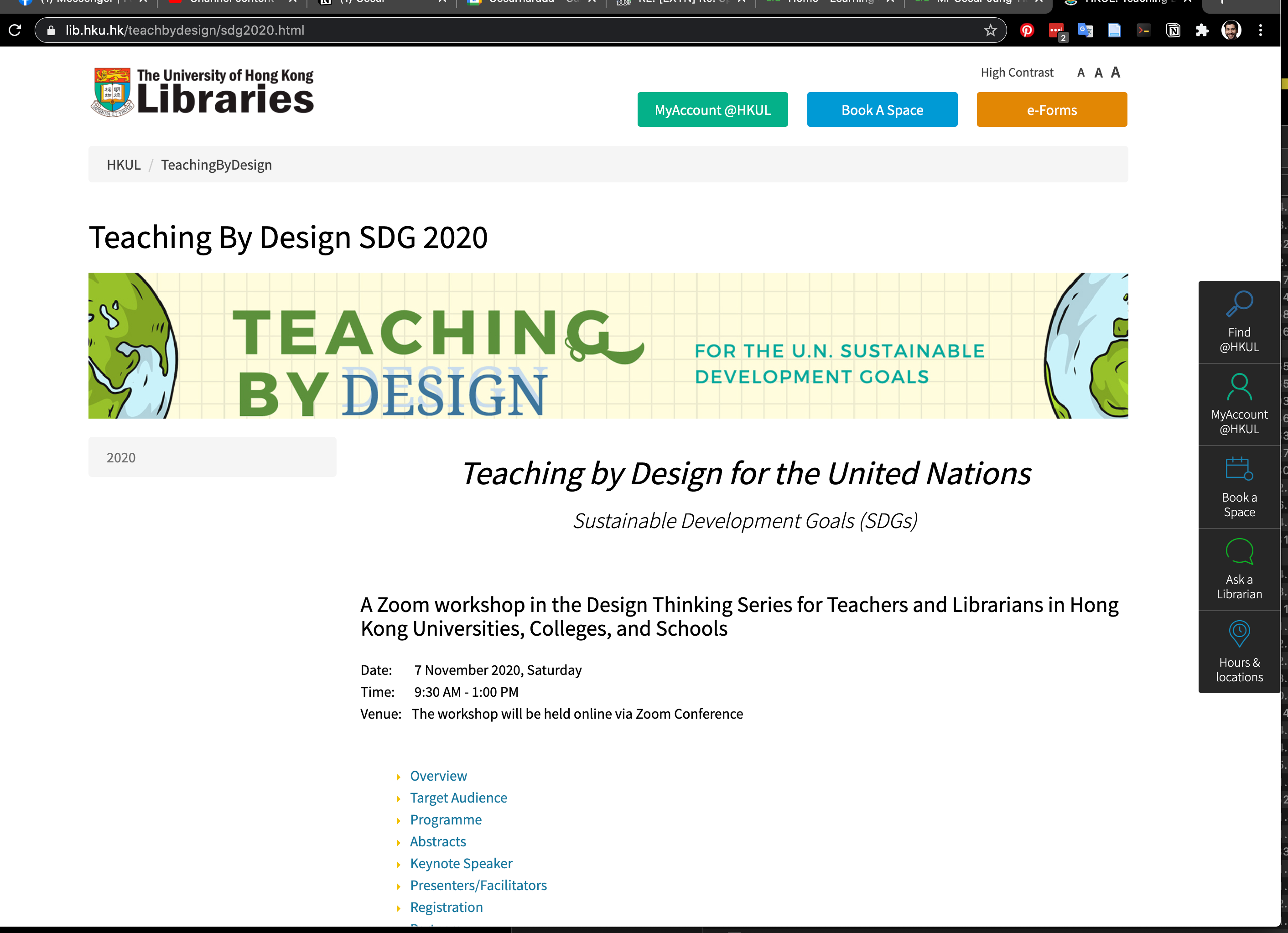 Teaching by Design for the United Nations