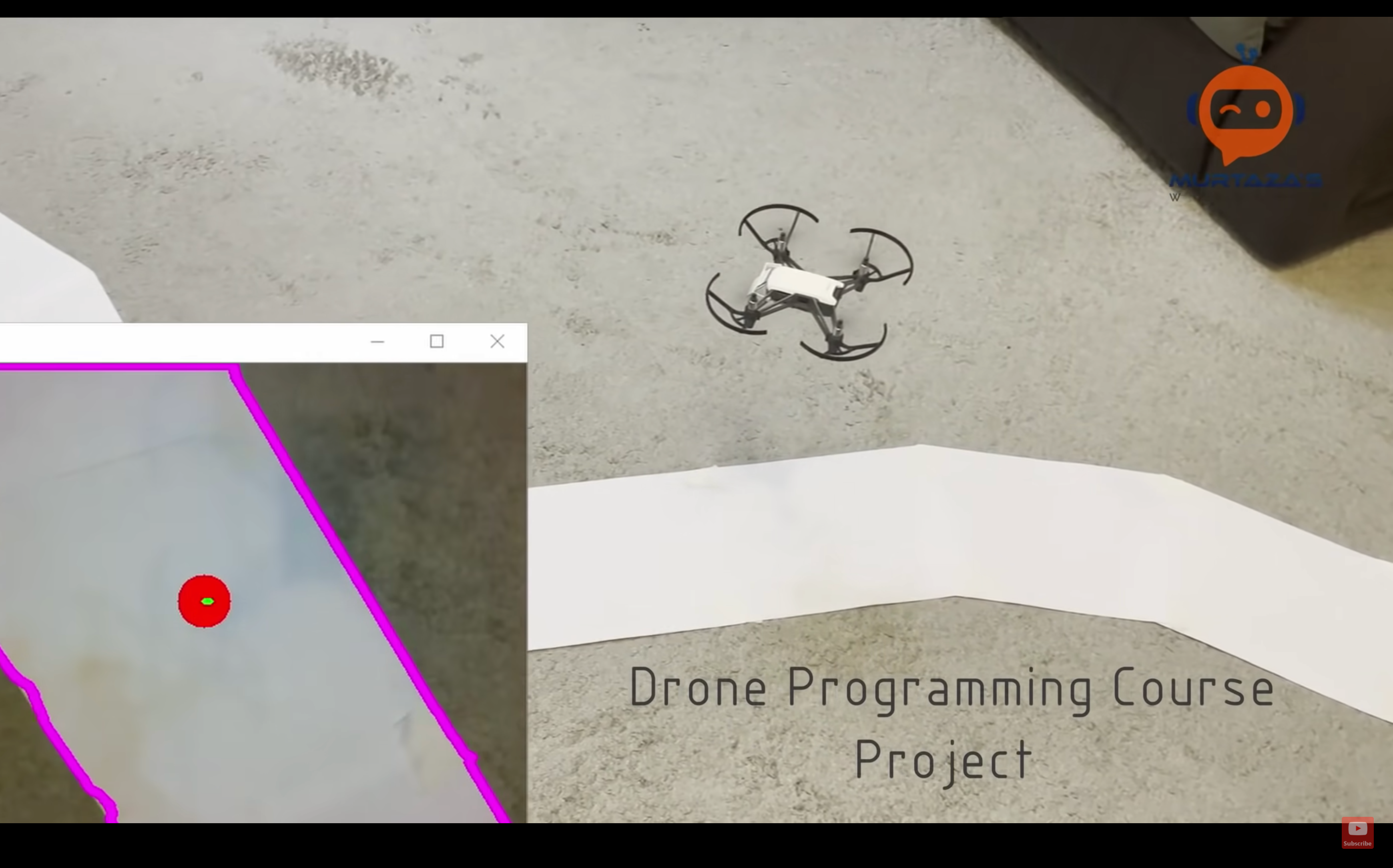 Drone coding with Tello, python and OpenCV
