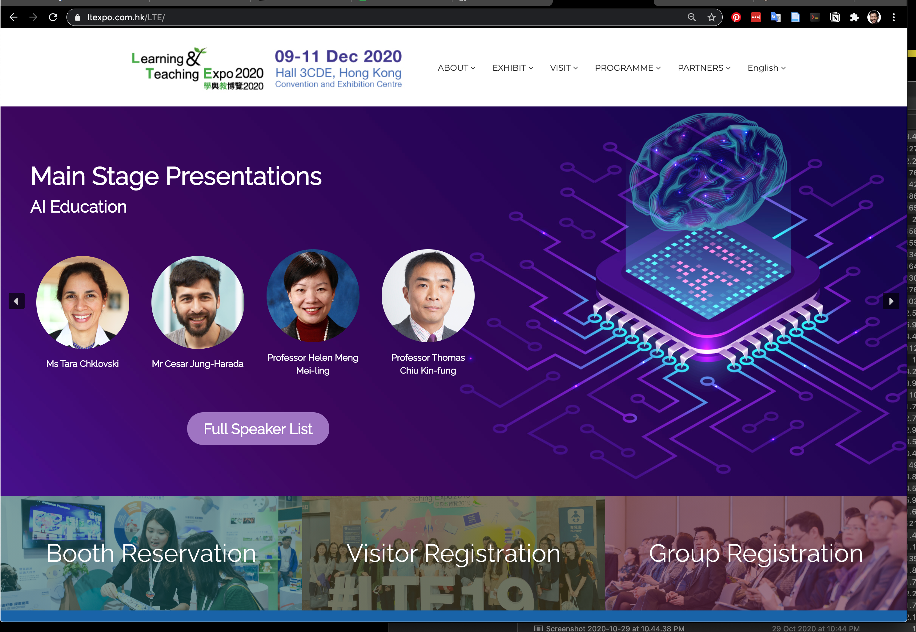 11th edition of Learning & Teaching Expo (LTE)