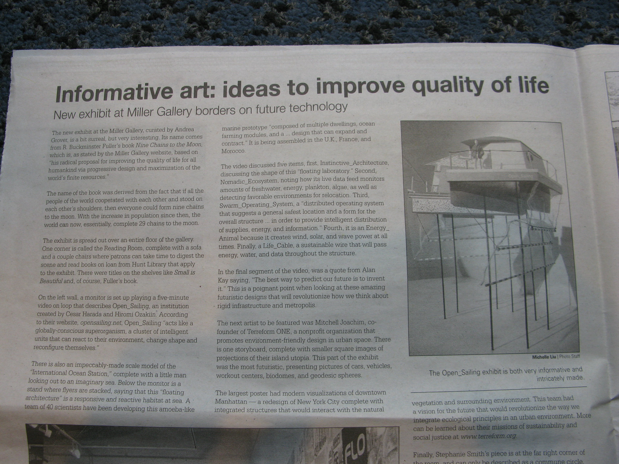 informative art: ideas to improve quality of life