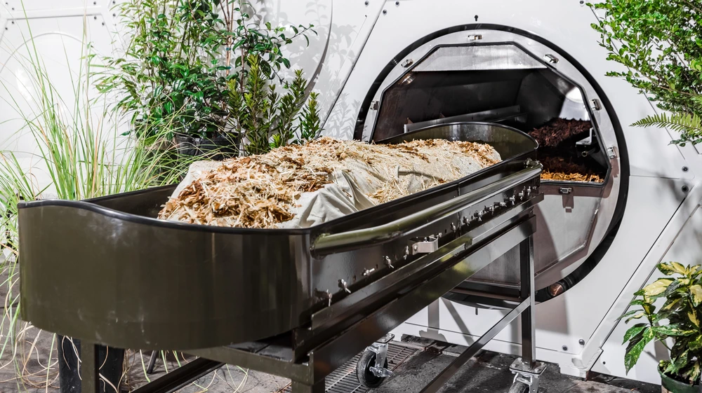 The First U.S. Funeral Home That Turns Bodies Into Compost Is Now Open