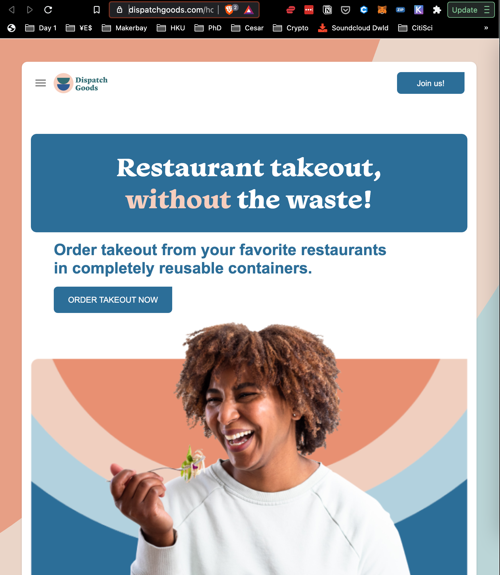 Dispatch Goods, Restaurant Takeout without waste