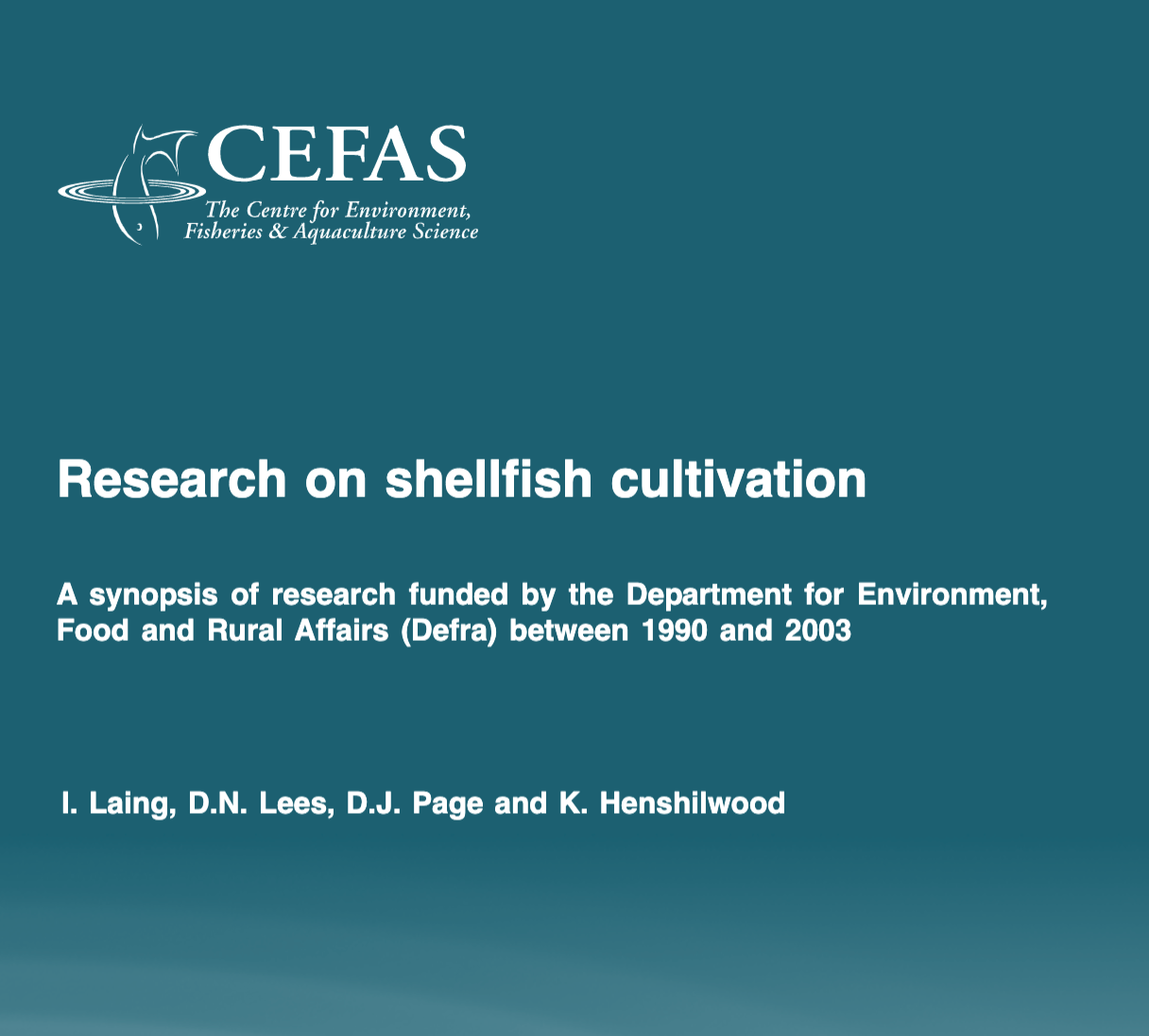 Research on shellfish cultivation