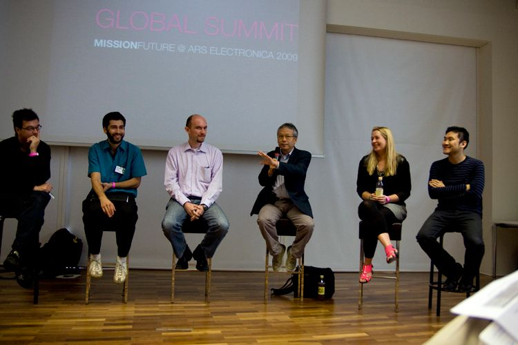 """Ars Electronica, Mission Future Summit, """"The Future of Technology"""""""