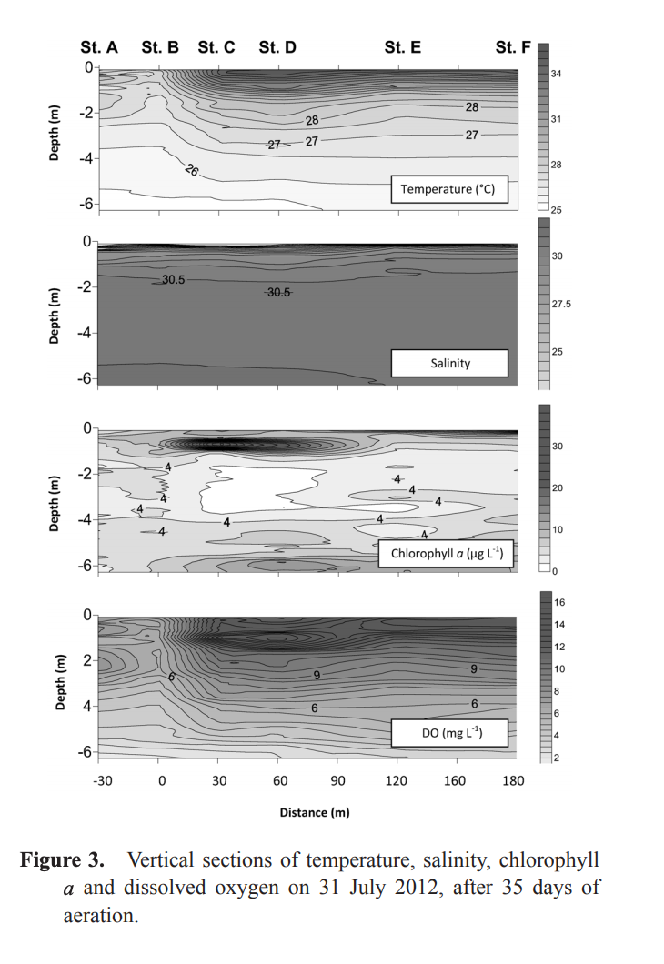 Effects of artificial upwelling on the environment and reared oyster Crassostrea Gigas in Omura Bay, Japan