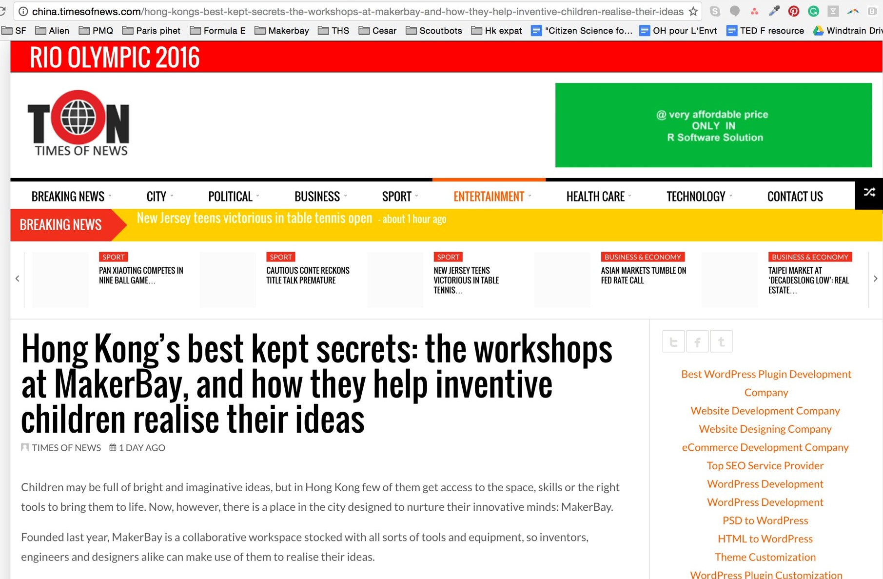 """""""Hong Kong's best kept secrets: the workshops at MakerBay, and how they help inventive children realise their ideas"""