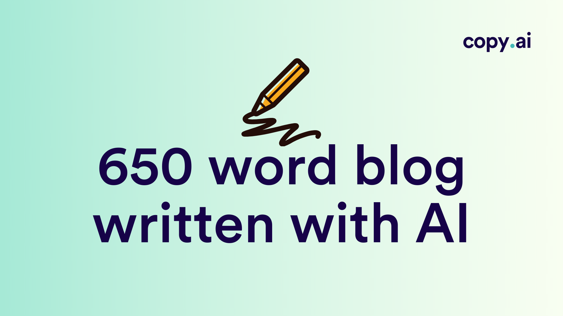 How to Write a 650-Word Blog