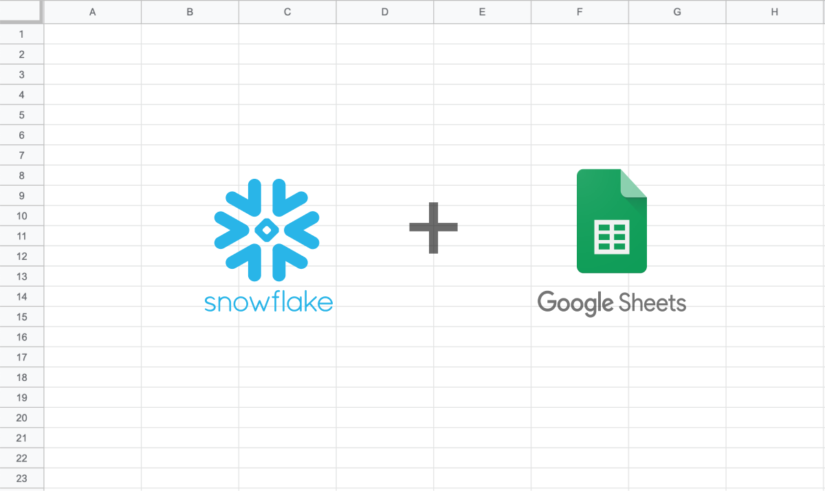 The best ways to connect Snowflake to Google Sheets