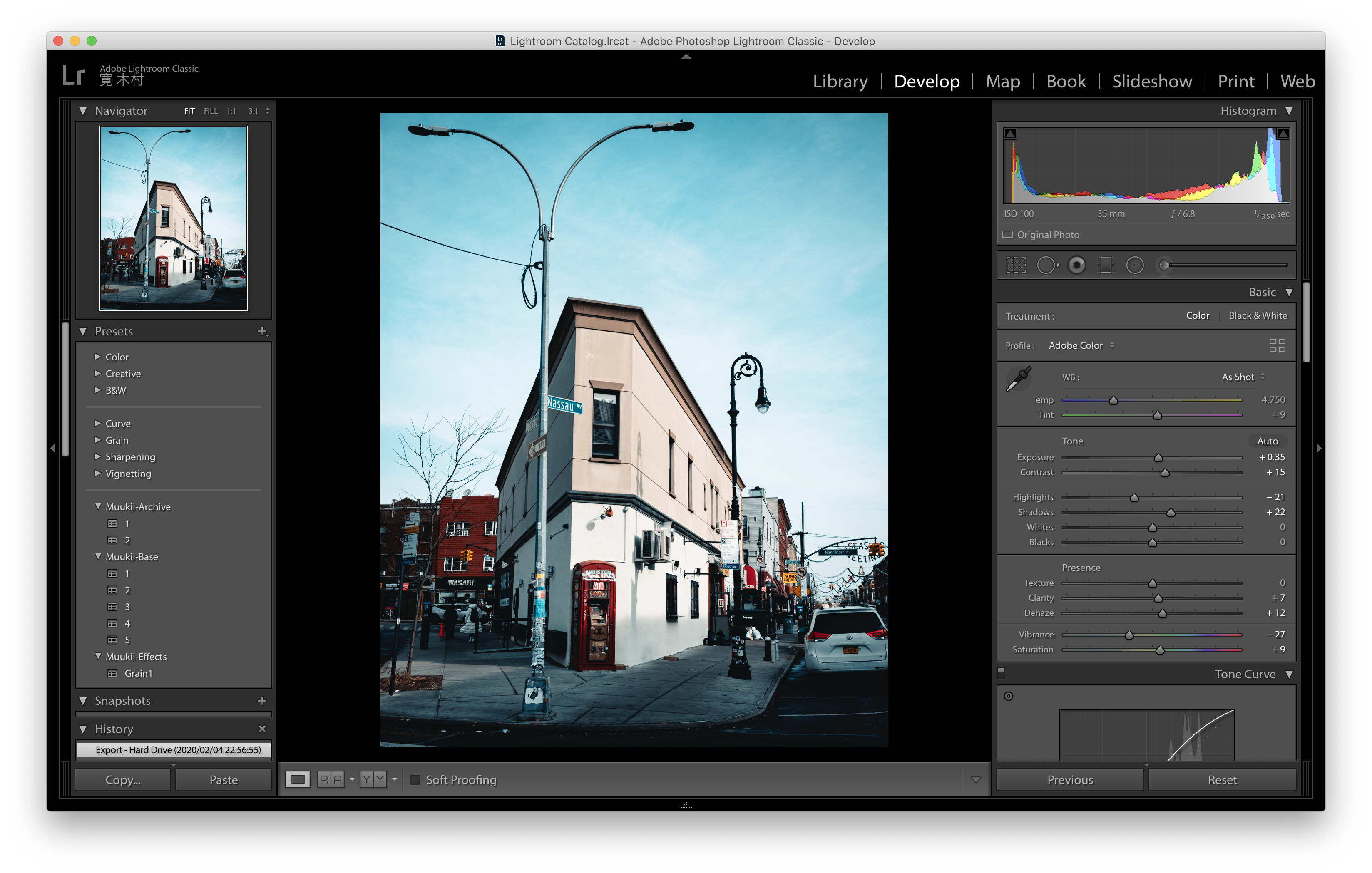 Lightroom : Blurry Preview in Develop module