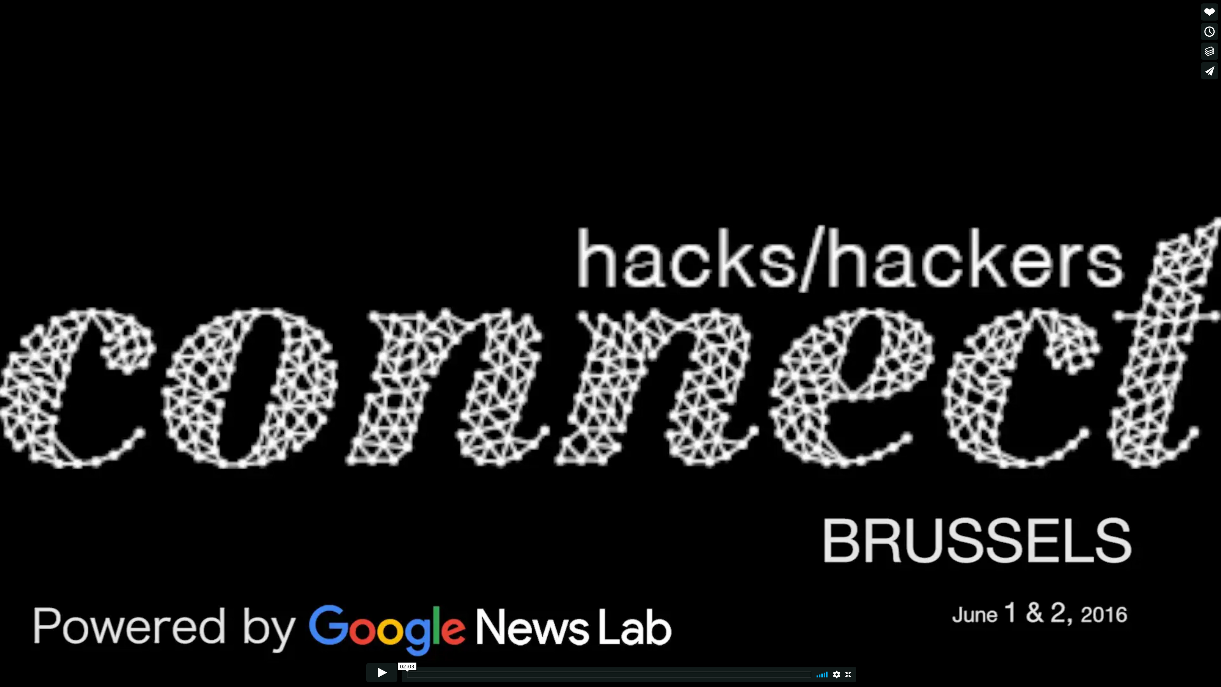 Hacks/Hackers Connect Brussels