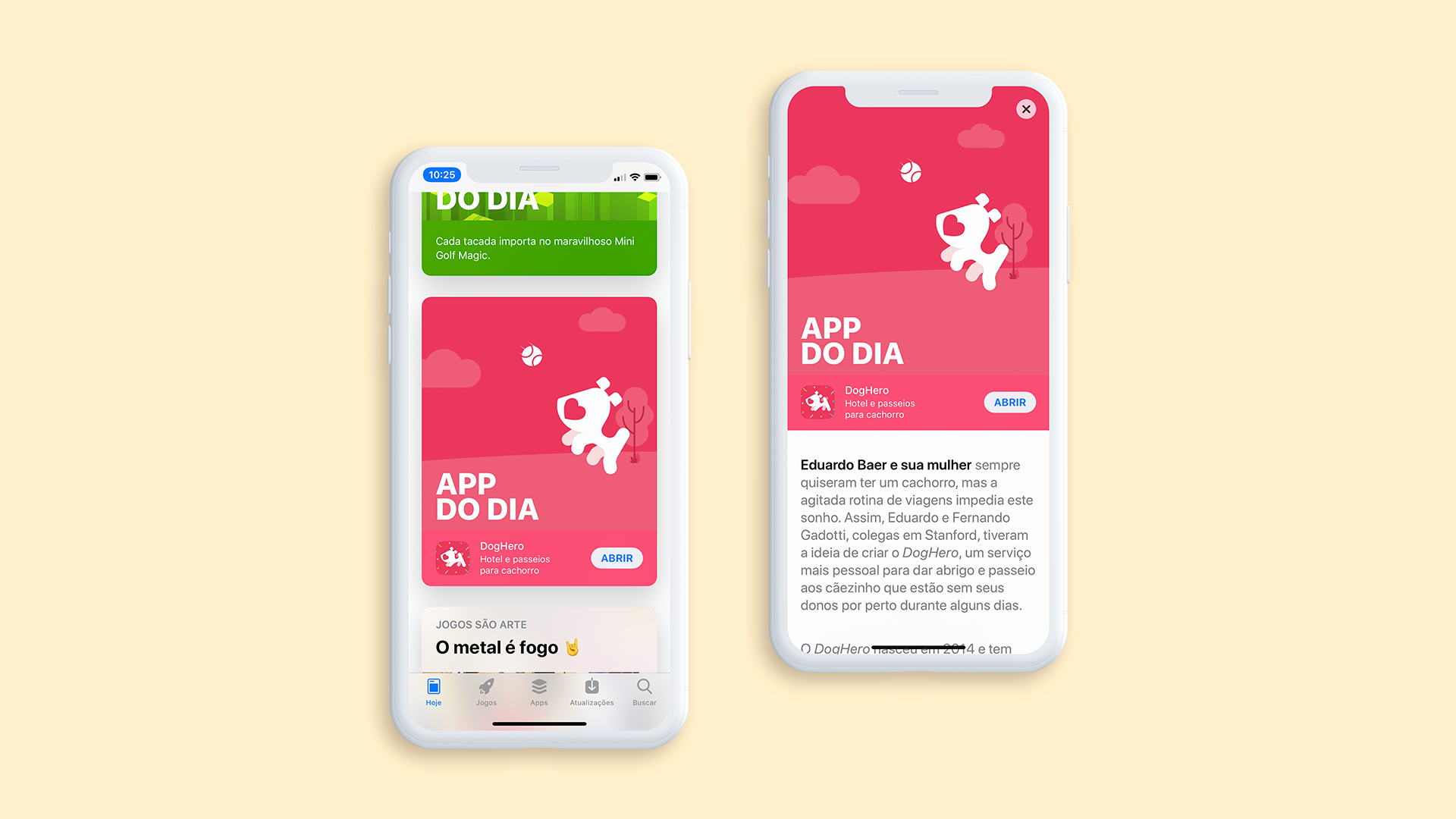 DogHero as App of the Day in App Store