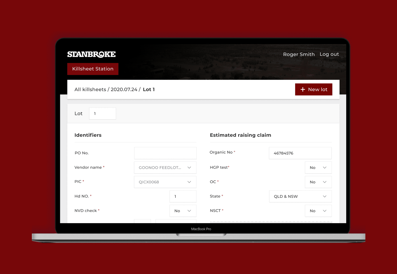 ↘️ Livestock process automation for Stanbroke
