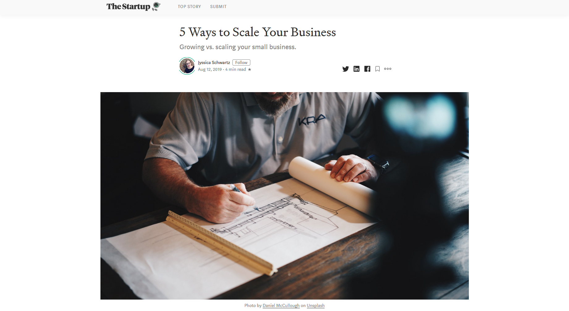 5 Ways to Scale Your Small Business — The Startup