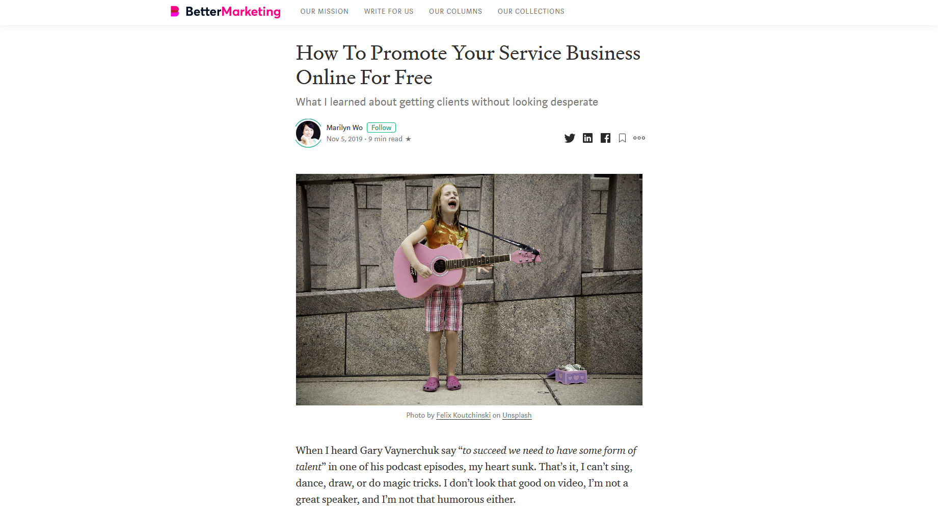 How To Promote Your Service Business Online For Free