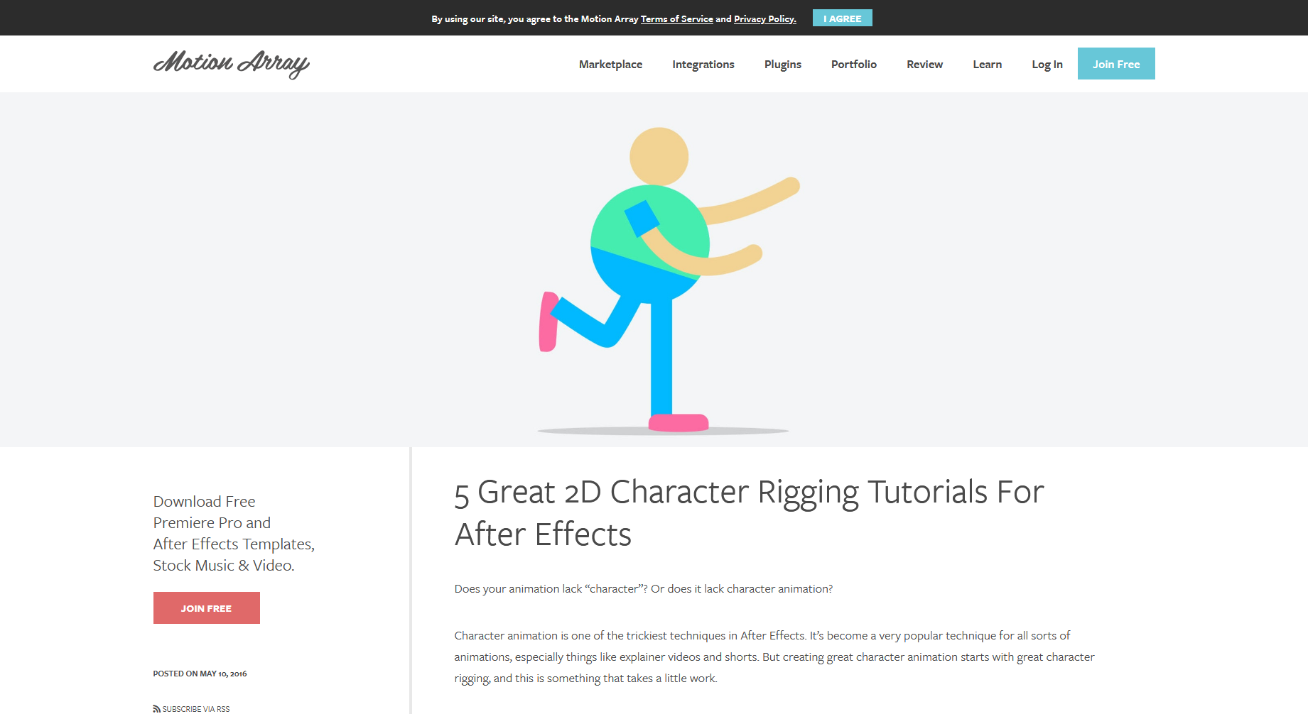 5 Great 2D Character Rigging Tutorials for After Effects — Motion Array