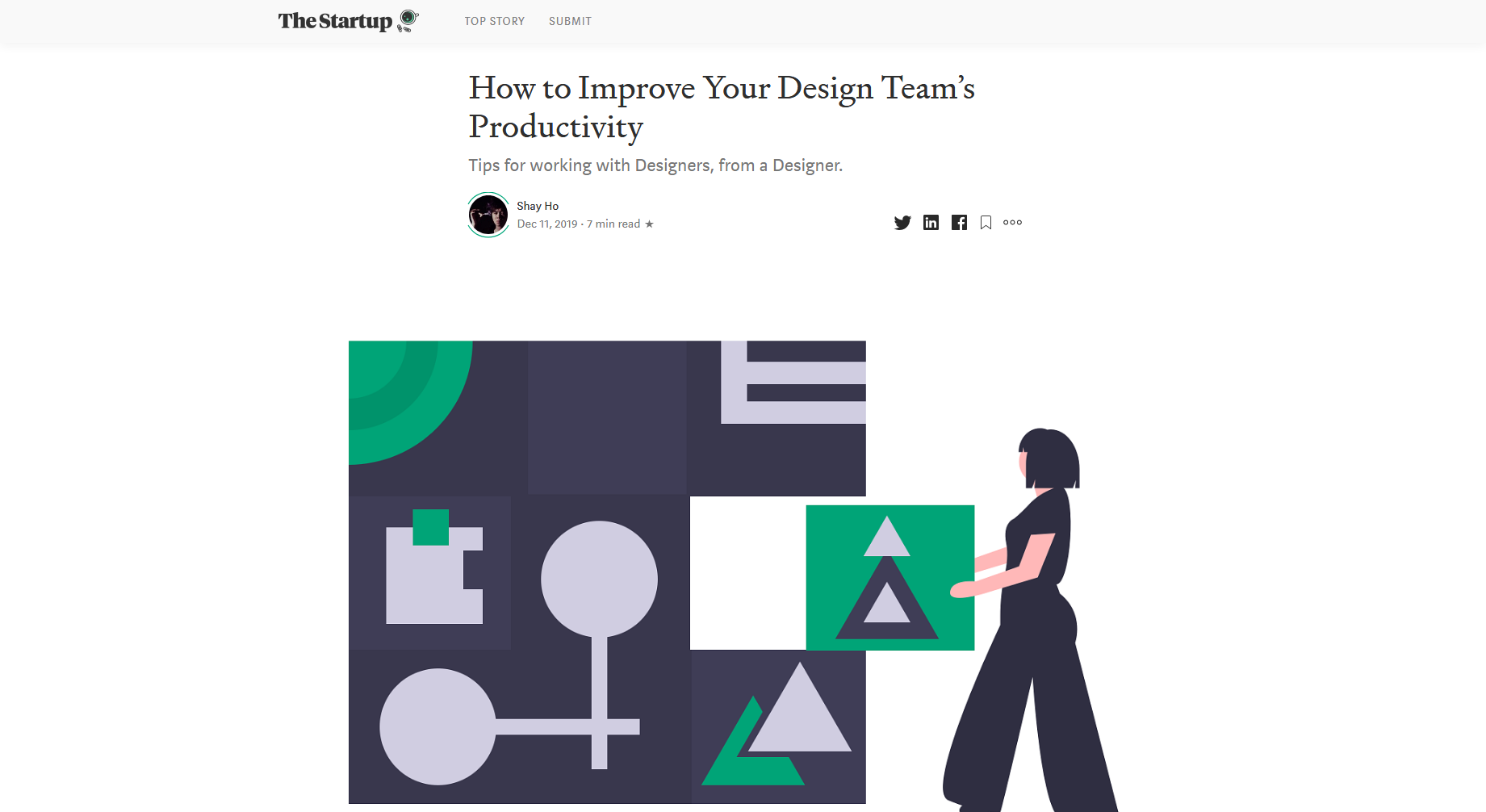 How to Improve Your Design Team's Productivity — The Startup