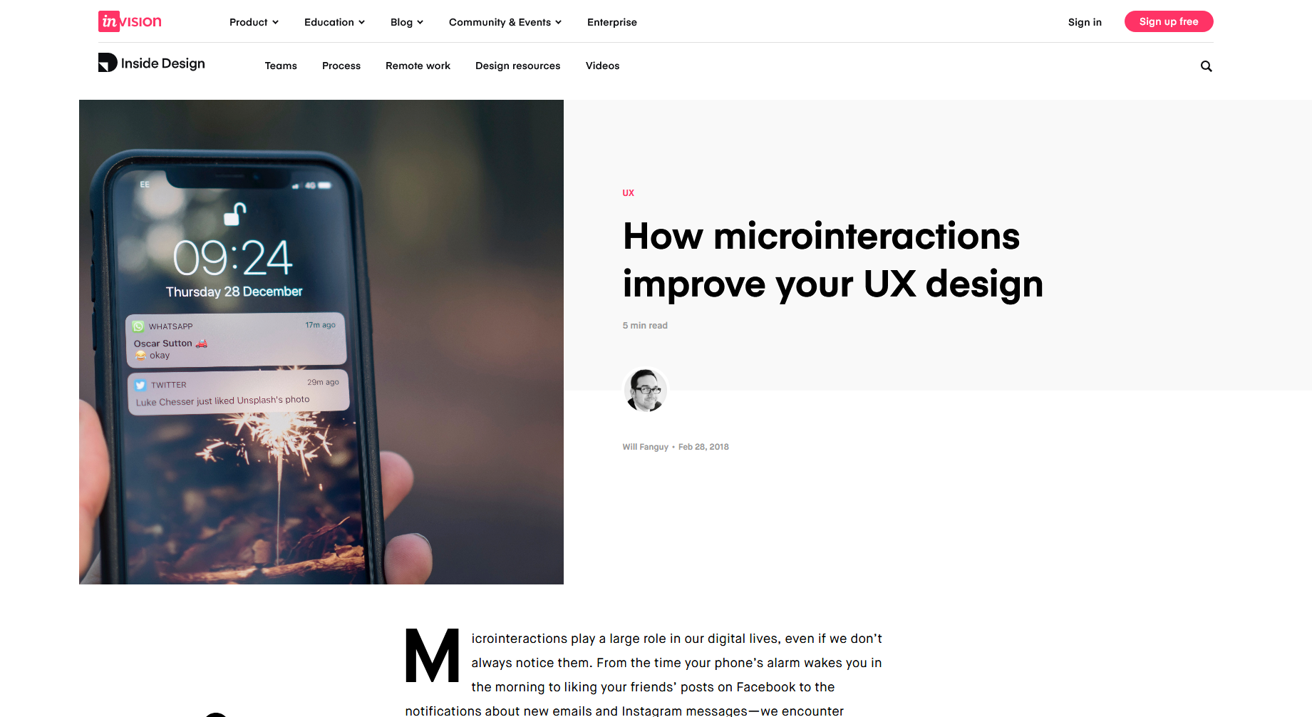 How Microinteractions Improve Your UX Design