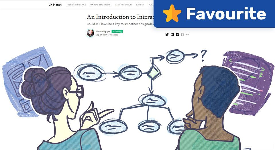 An Introduction to Interaction Flows — UX Planet