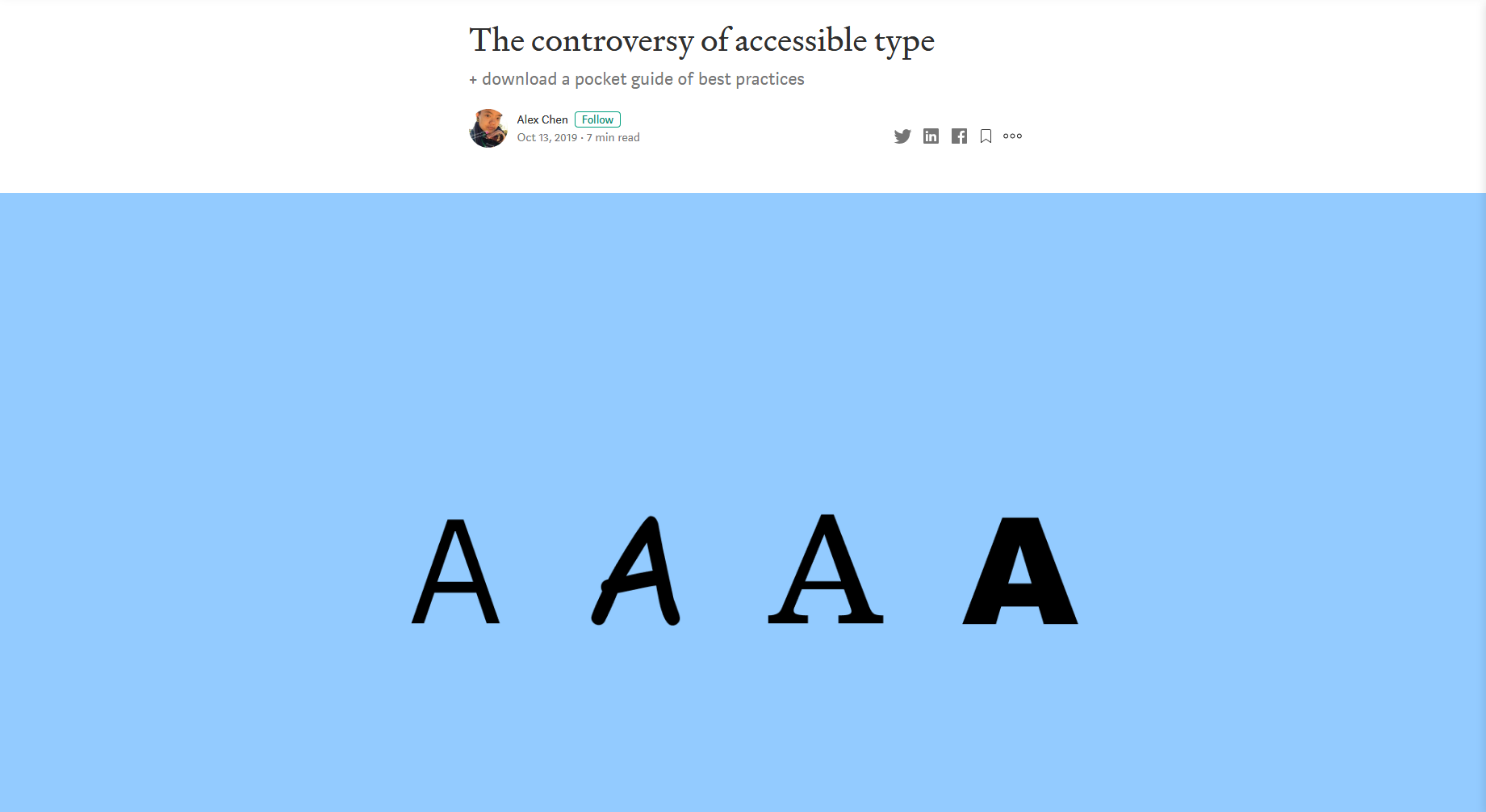The Controversy of Accessible Type