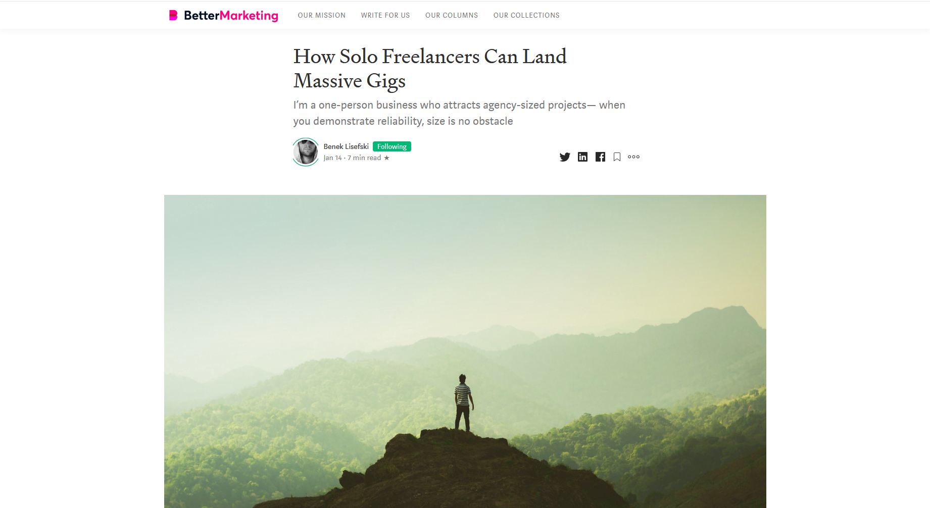 How Solo Freelancers Can Land Massive Gigs — Better Marketing