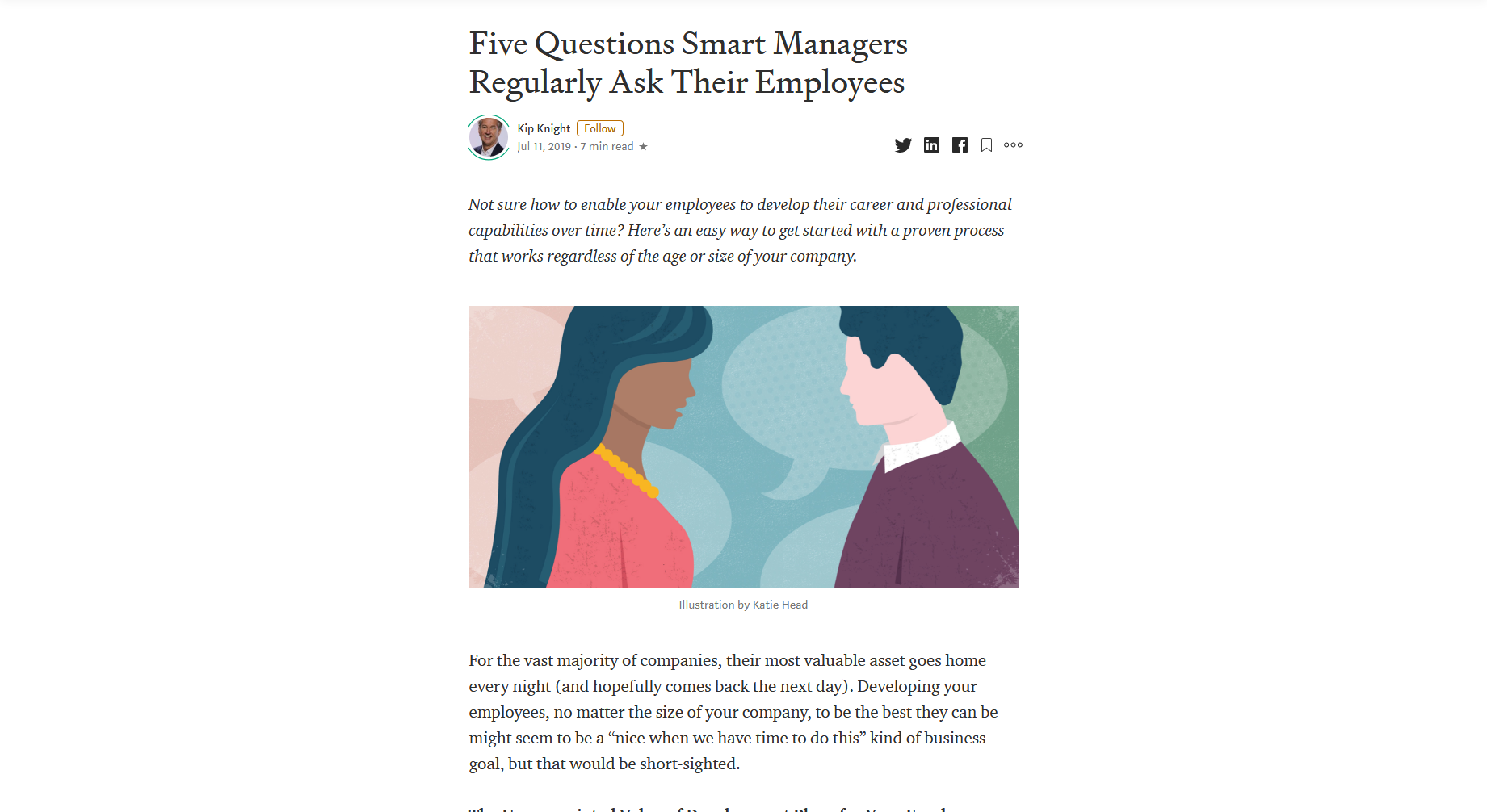 Five Questions Smart Managers Regularly Ask Their Employees — Thomvest Ventures