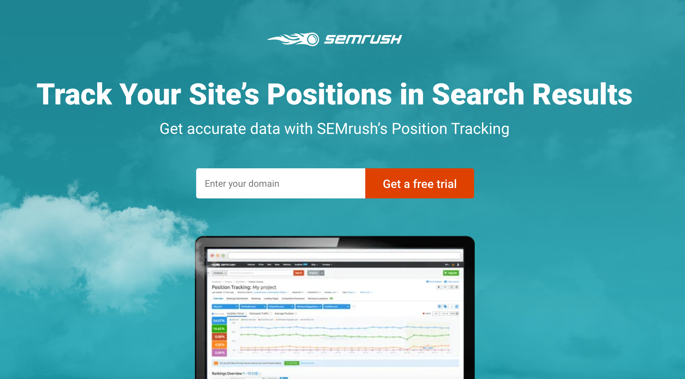 First: Find out your search engine rankings