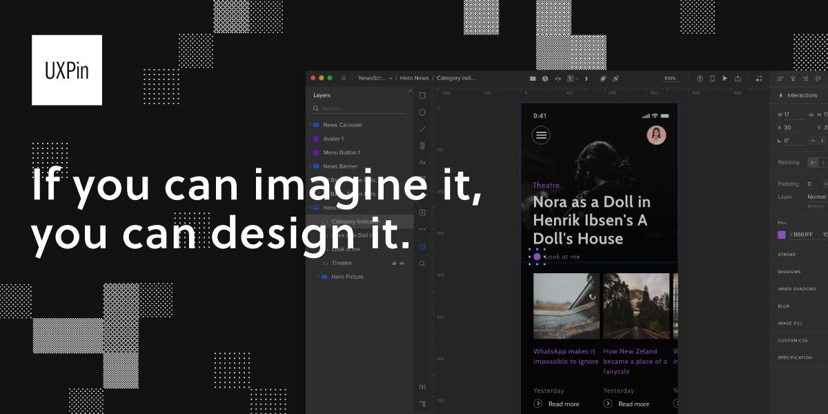 UXPin - UI Design and Prototyping Tool