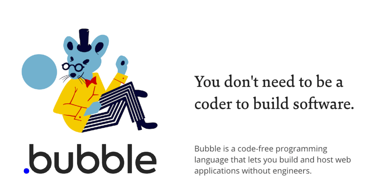 The best way to build web apps without code.