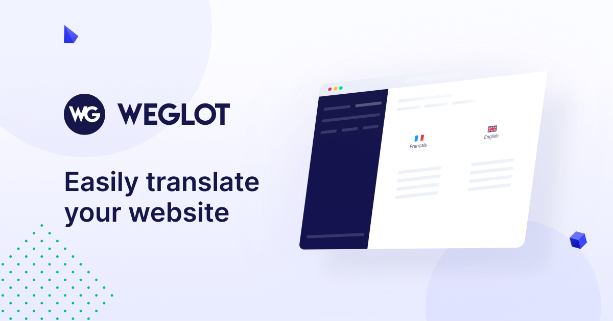Weglot   Translate your website - Multilingual for WordPress, Shopify and more