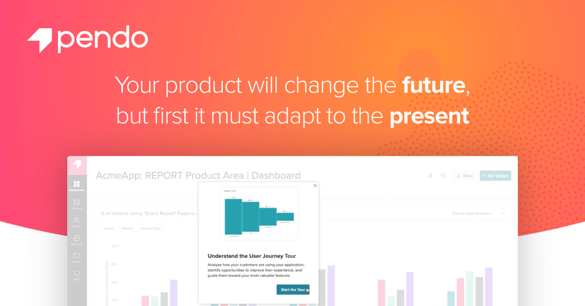 Understand and Guide the Product Journey   Pendo.io