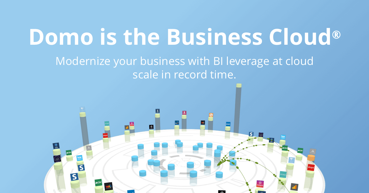 BI Leverage, At Cloud Scale, In Record Time   Domo
