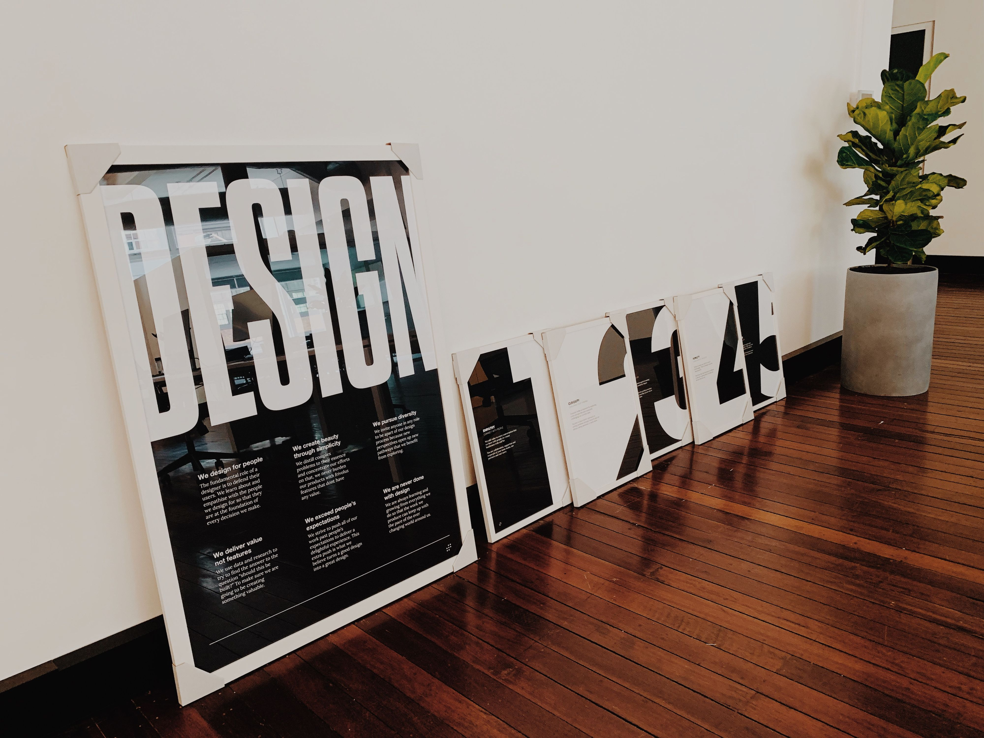 Our design team principles and values
